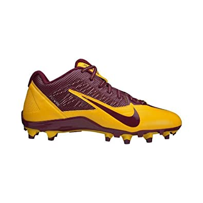 buy popular 321f7 bd7cb Image Unavailable. Image not available for. Color NIKE Mens Alpha Pro TD  SB Low Football Cleats Washington Redskins ...