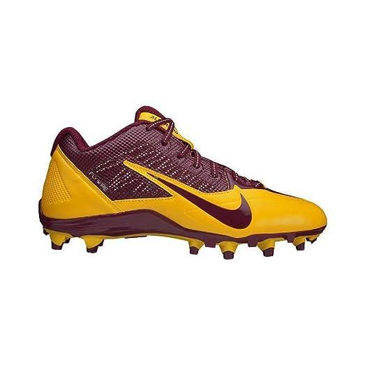 Nike Mens Alpha Pro TD SB Low Football Cleats Washington Redskins Red  Yellow (15 M