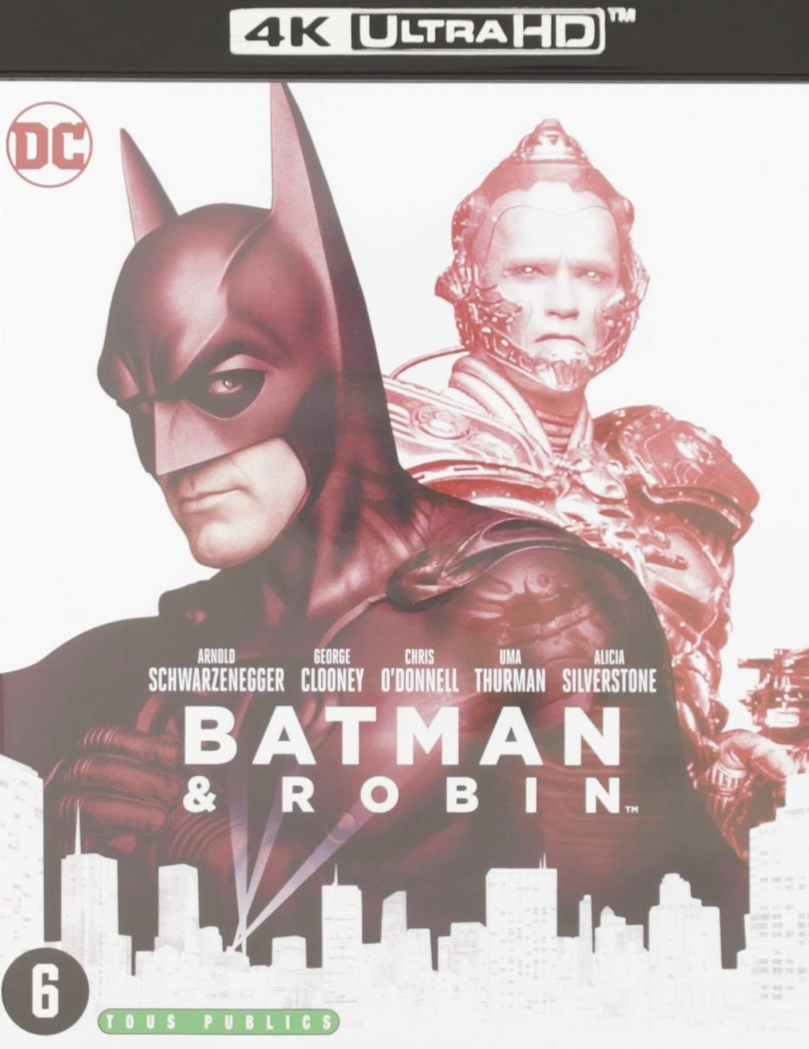 Batman Clooney Robin and Batgirl Awesome Poster