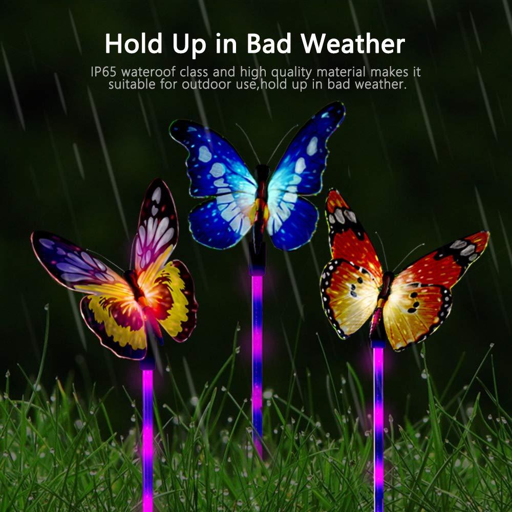Amazon.com: UBKER - Luces solares para jardín al aire libre ...