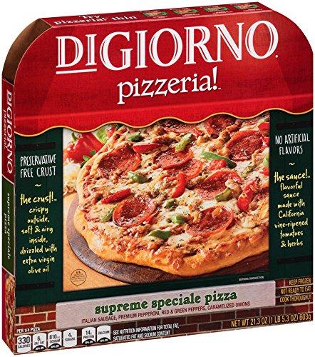 DiGiorno Frozen Pizza Supreme Speciale, Family Size Pizzeria, 21.3 oz (Frozen)