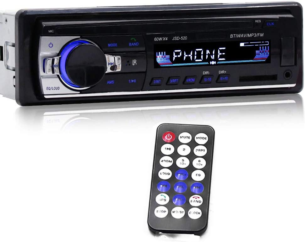 Docooler Jsd 520 Bt Auto Audio Player Car Radio Stereo Elektronik