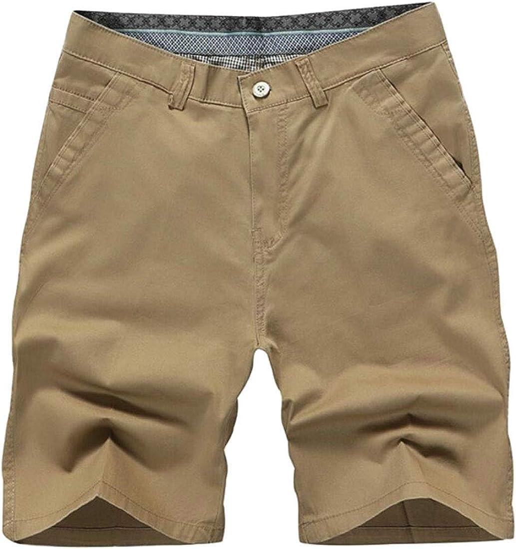 HTOOHTOOH Men Outdoors Pocket Beach Work Cargo Shorts Pants