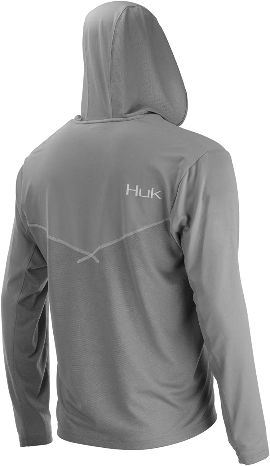 Huk Men's Icon X Hoodie   Long-Sleeve Performance Shirt with UPF 30+ Sun Protection: Clothing