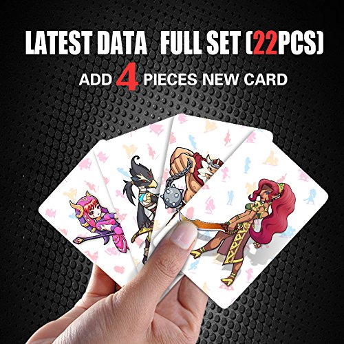 The Legend of Zelda: 22 PCS NFC Mini Tag Cards for Switch/Wii U 4PCS Champions Cards Included