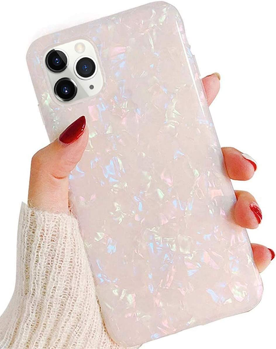 J.west Case for iPhone 11 Pro 5.8-inch, Cute Ultra Thin [Tinfoil Series] Macaron Color Bling Lightweight Soft TPU Case Cover for Apple iPhone 11 Pro 2019(Colorful)