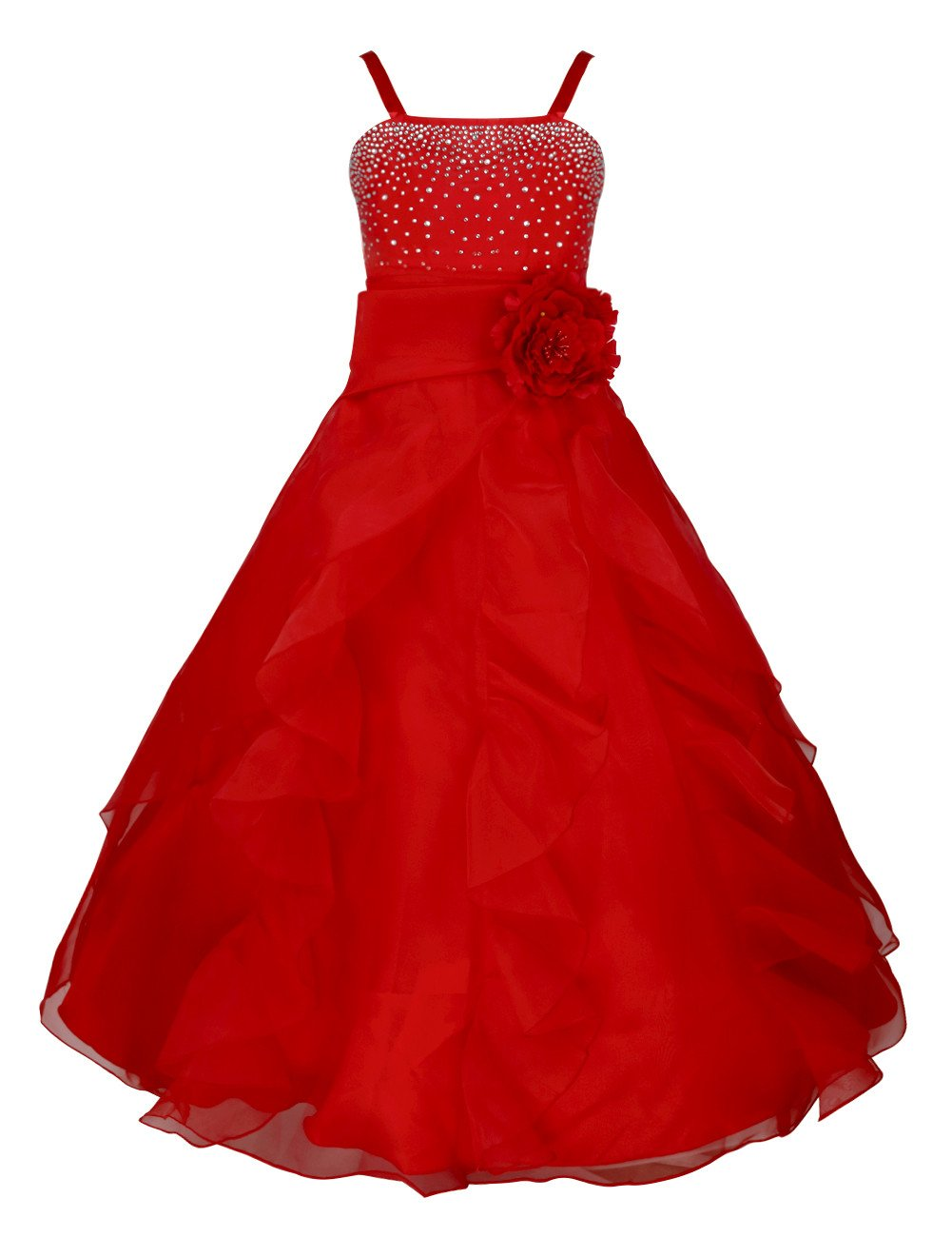 Red Wedding Gown: Amazon.com