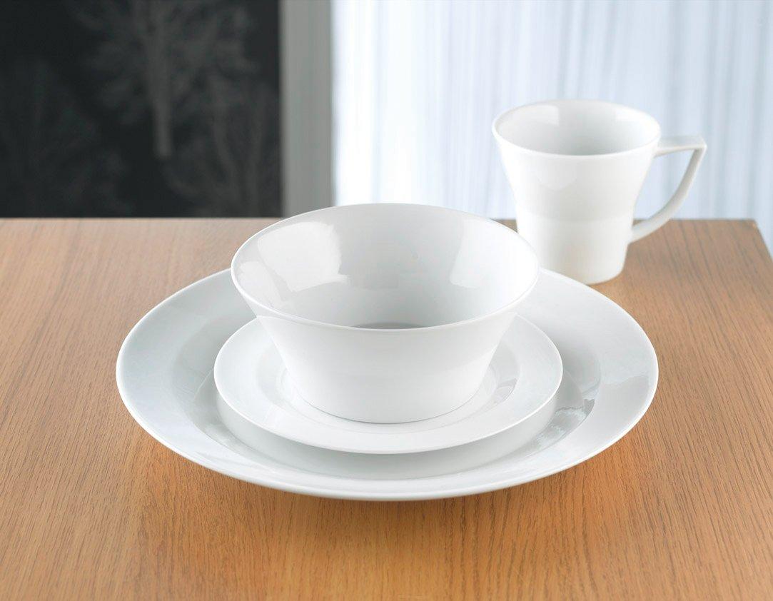 4 x Denby/James Martin Everyday Pasta Bowl, 23 cm, + 4 x Denby/James Martin Everyday Soup/Cereal Bowl, 16 cm