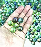 TSY TOOL 270 Count of Cats Eyes Glass Marble, Cat's Eyes Marbles 5/8