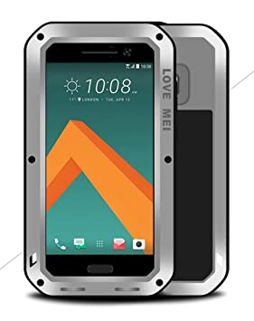 LOVE MEI Carcasa para HTC One M10, Impermeable a Prueba de ...