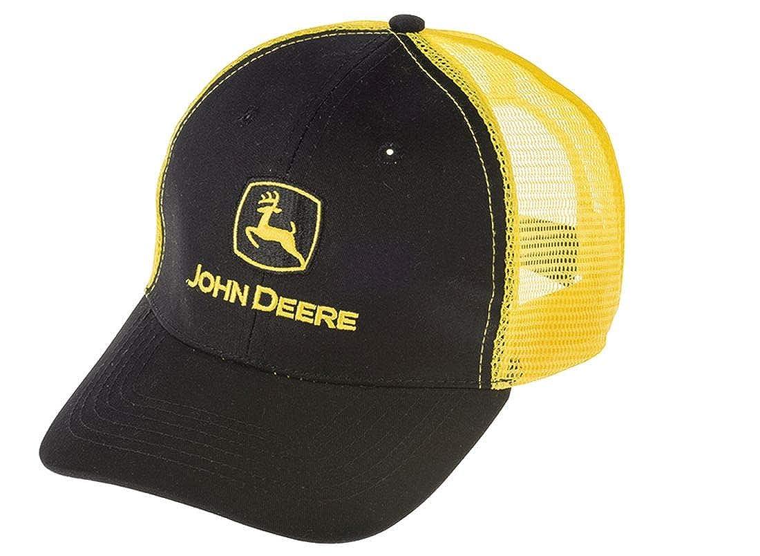 John Deere - Gorra de béisbol - para Hombre Negro Negro Talla ...