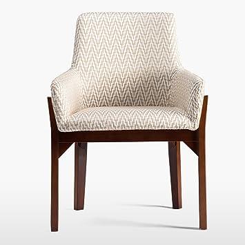 ERRU Stühle Nordic Massivholz Esszimmer Stuhl Haushalt Modern Einfach Sofa  Freizeit Bürostuhl (58 *