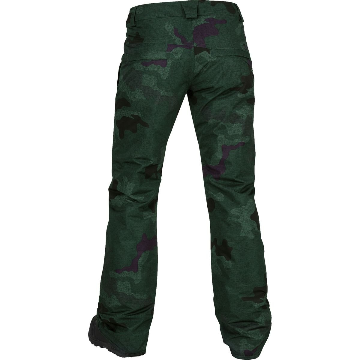 Volcom Junior's Frochickie Insulated 2 Layer Shell Snow Pant, Dark Camo, Large by Volcom (Image #2)