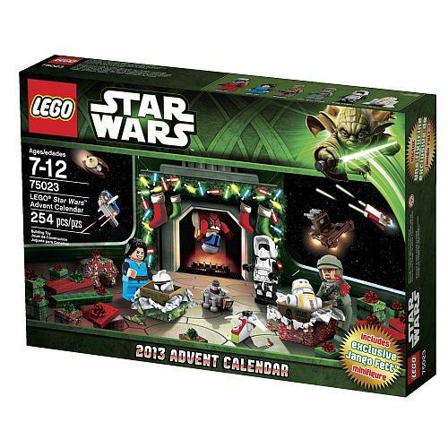 LEGO Star Wars Advent Calendar 2013 (75023)(MFG Age: 7 - 12 years) (Star Wars Dropship)
