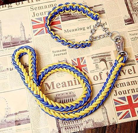 Maycong Sin arnés de jalar Collar de Cuerdas para Perros con ...