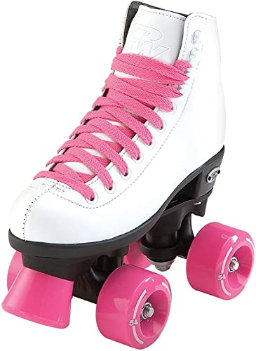 Riedell RW Skates – Wave – Kids Quad Roller Skates for Indoor Outdoor