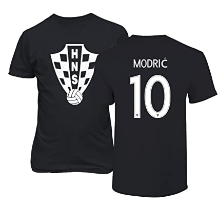 103fc17be Tcamp Croatia 2018 National Soccer  10 Luka MODRIC World Championship Men s  T-Shirt (