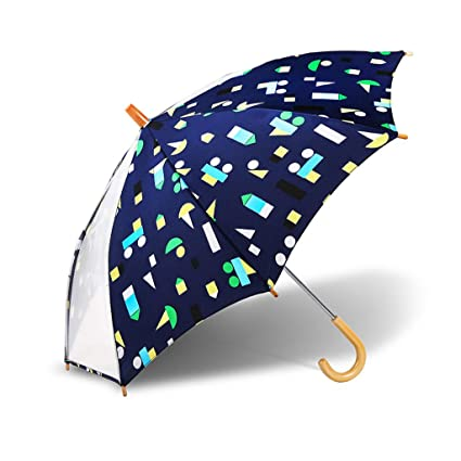 JKL Stick Umbrella Paraguas para niños, Paraguas de cúpula ...