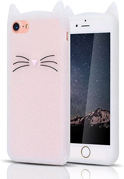 cover iphone 7 gatto