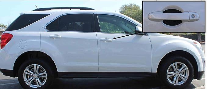 Carbon Fiber Auto Accessory Door Handle Scratch Guards Fits Kia Optima New 2 pk