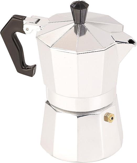 Cucina di Modena – Cafetera de émbolo: Cafetera para 3 tazas, para ...