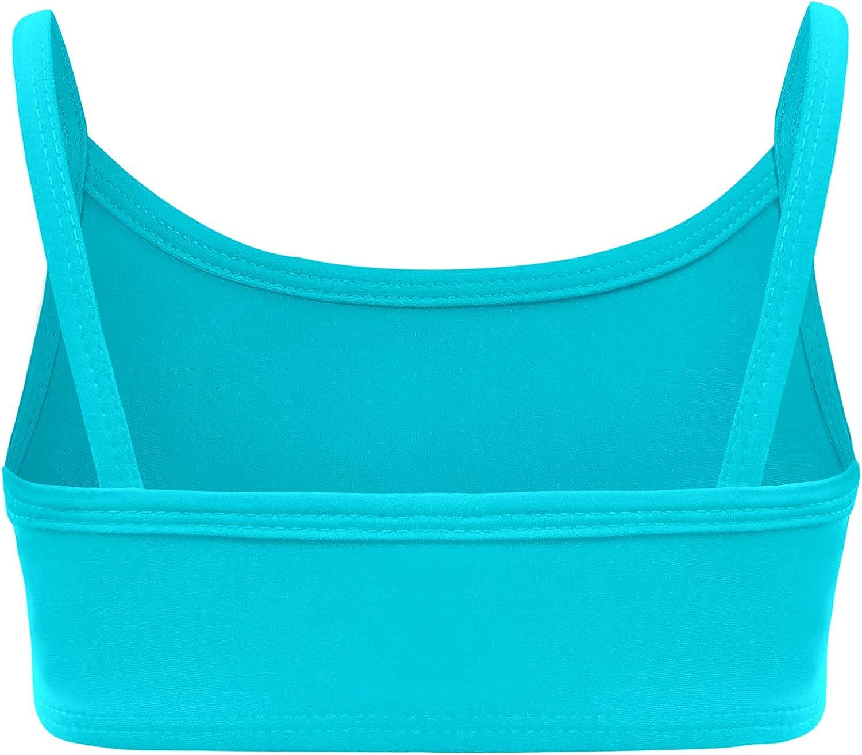 City Threads Girls Bikini Top Active Wear UPF50 Rash Guard for Beach and Pool