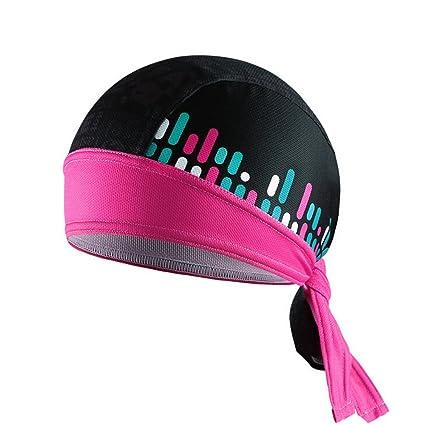 Bandanas for Men Cycling Wraps Wave Cap Unisex Sport Beanie Hat Helmet  Liner Cycling Cap Headscarf Head Wraps for Women Hats for men Riding Bandana  Pirate ... 7dfcdd42f1ef