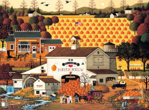 Buffalo Games Charles Wysocki: Pumpkin Hollow - 1000 Piece J