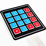 Keypad Membrane Sealed 4X4 Button for Arduino AVR PIC
