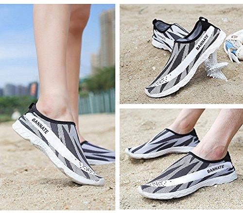 Juleya Water Shoes Slip-On Aqua Shoes For Adults Yoga Shoes- Barefoot Shoes Water Skin Shoes Surf Shoes Socks For Beach/Swim/Surf 1# XnPUKBax