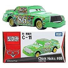 Tomica Takara Tomy Disney PIXAR Movie CARS 2 C-11 Chick Hicks Car Diecast Toy