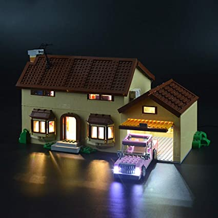 Lightailing Light Set For The Simpsons House Building
