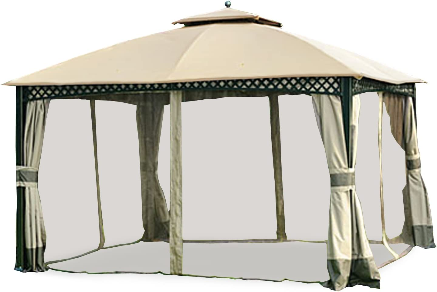 Garden Winds Replacement Canopy for Windsor Dome Gazebo - Riplock 350 Performance Fabric  sc 1 st  Amazon.com & Gazebos - Umbrellas Canopies u0026 Shade : Patio Furniture : Amazon.com