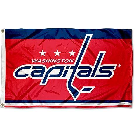 Amazon.com   WinCraft Washington Capitals Flag 3x5 Banner   Sports ... 008cc78219c
