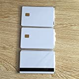 100 cards. SLE 4442 with 8mm HiCo blank card. Genuine Siemens chip. Smart card