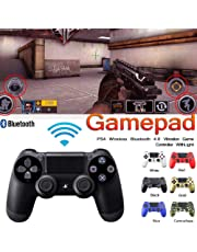 Manette sans fil pour PS4, pour manette de jeu Playstation 4, manette de jeu Bluetooth DualShock Manette de commande classique, commandes sans fil compatible avec la manette de jeu Sony Playstation 4