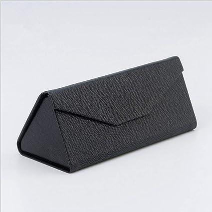 QSFGHJKUV Estuche para lentes Caja de gafas de triángulo de ...