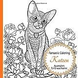Malbuch Für Erwachsene Tiermalbuch Ausmalbilder Katzen Ausmalen