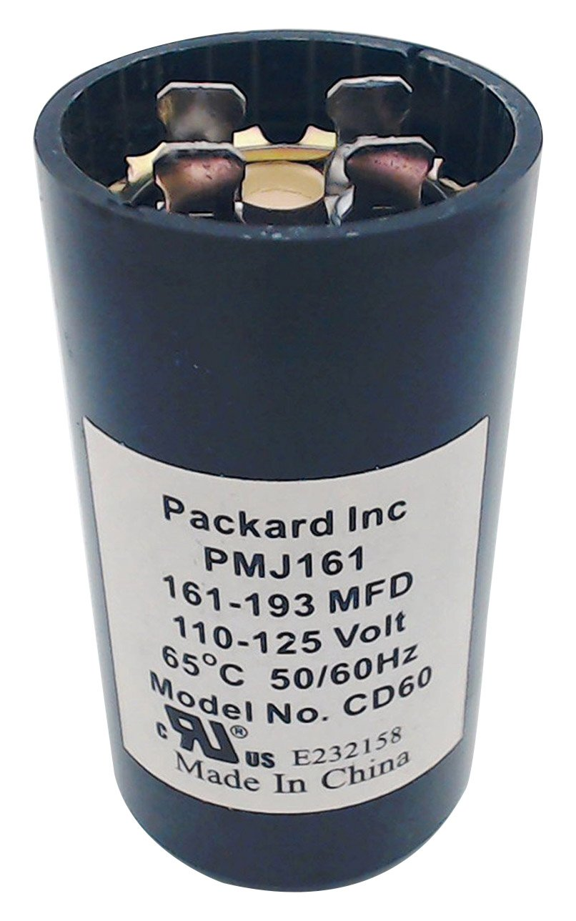 Packard PMJ161 110-125V Start Capacitor, 161-193 MFD