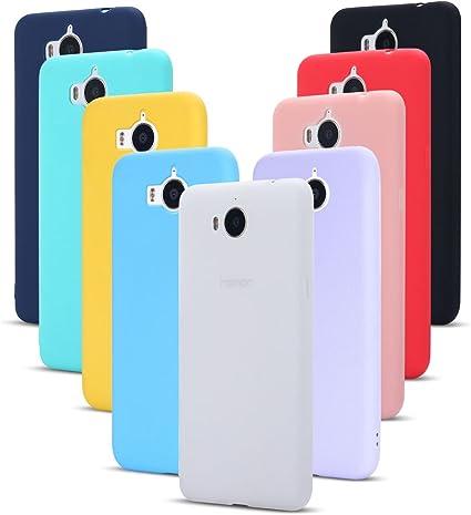 9 Pack Cover Huawei Nova Young Custodia, SpiritSun Ultraslim Silicone Soft TPU Case Antiurto Paraurti Custodia per Huawei Nova Young/Y5/Y6 2017 ...