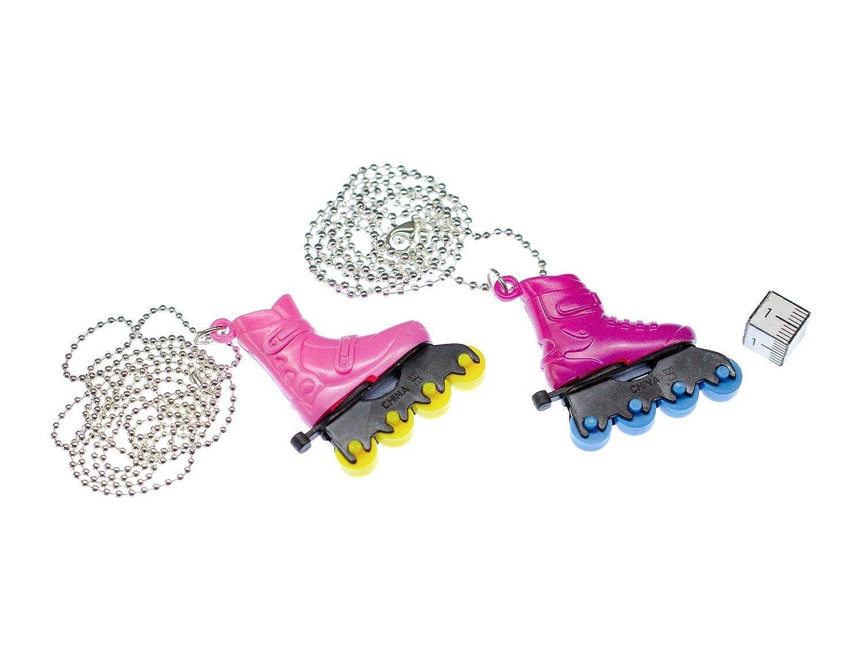 Miniblings Patines de Patines Collar de Cadena Patines en ...