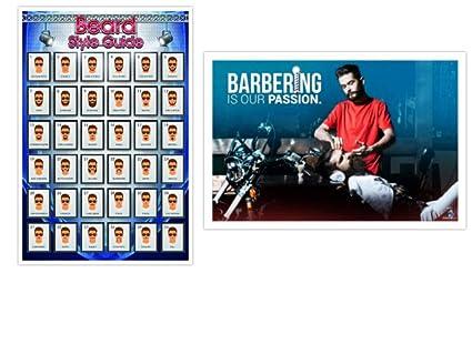 Amazon.com: Pósteres de barbero, pósteres de barbería, 24.0 ...