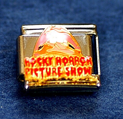 CASA D' ORO ROCKY HORROR PICTURE SHOW LIPS LICENSED ITALIAN CHARM ALEEGOLD