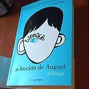 Wonder - La lección de August (NUBE DE TINTA): Amazon.es