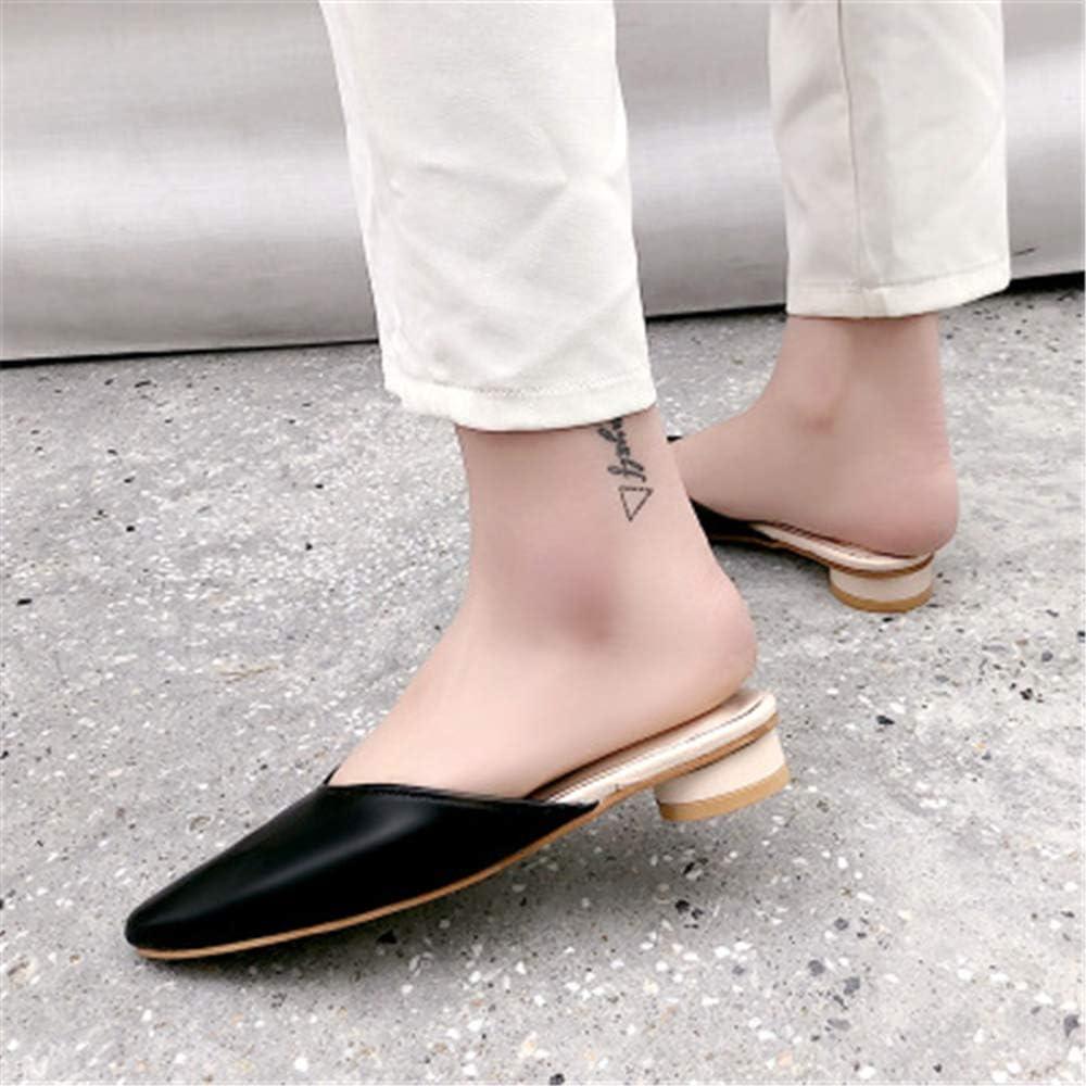 M Womens Low Slip On Mule Comfortable Slides Mule Scorpion Shoes flip Flop Black Lable 37//6.5 B US Women