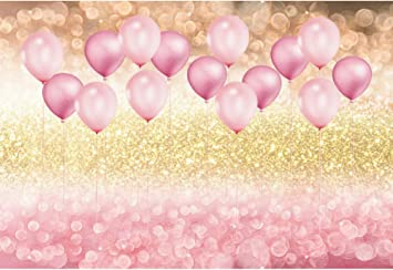 Sweet Birthday Backdrop 8x6.5ft Happy Birthday Colorful Wave Plate Sugar Photography Background Pink Backdrop Children Baby Shower Party Decor Photo Studio Props