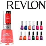 Lot of 10 Revlon Top Speed Finger Nail Polish Color Lacquer All Different Colors No Repeats
