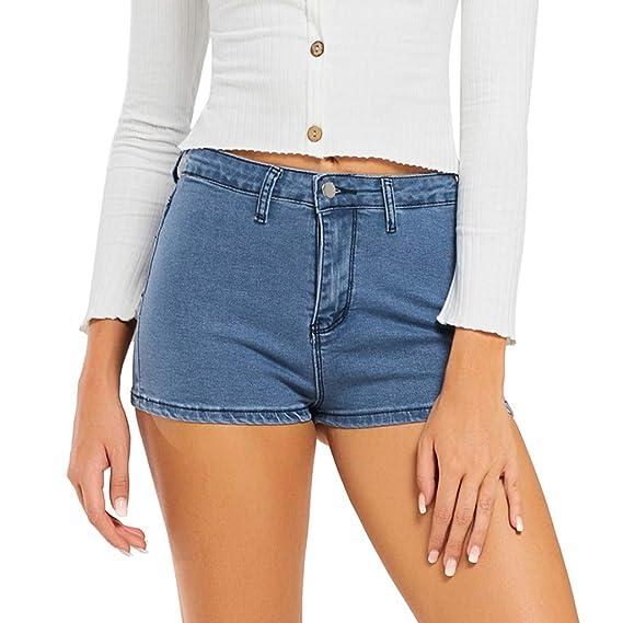prix de détail qualité-supérieure magasin discount Short Jeans Femme Sexy Jeans Femme Slim Troue Pantalon Femme ...