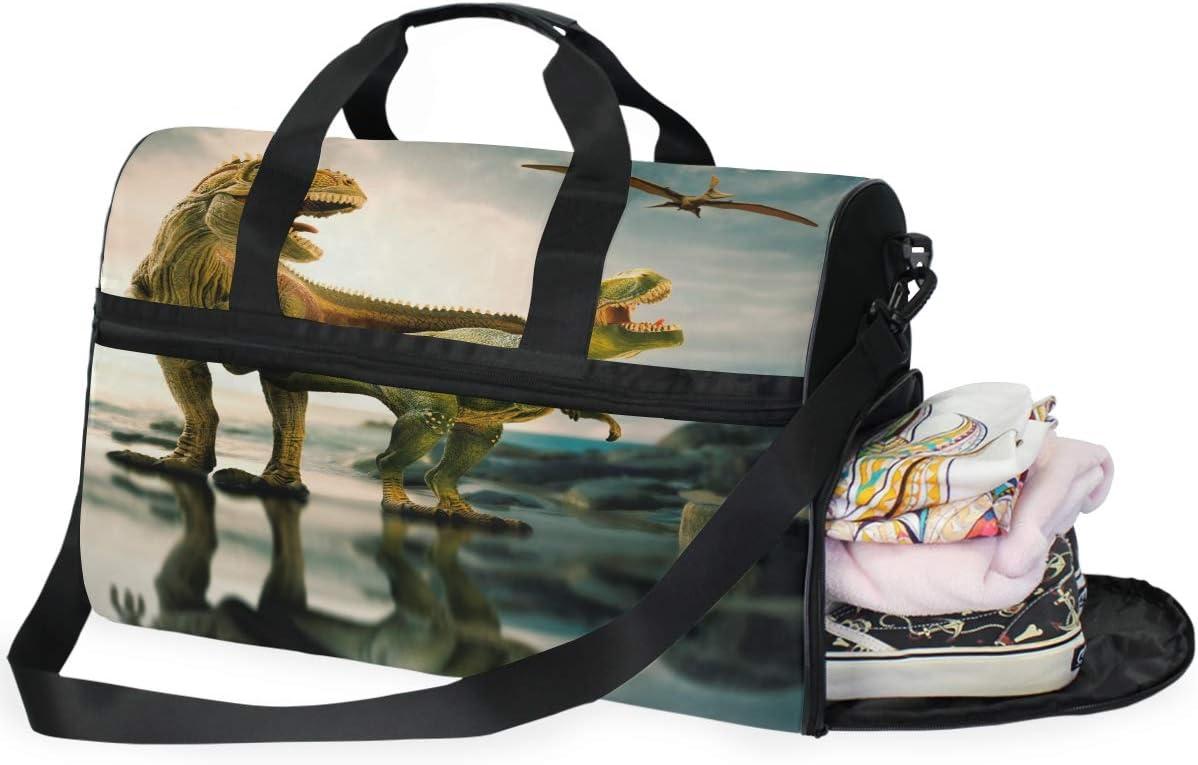 Womens Canvas Handbags,Yin Yang Dragons Large Capacity Top Handle Bag For Girls