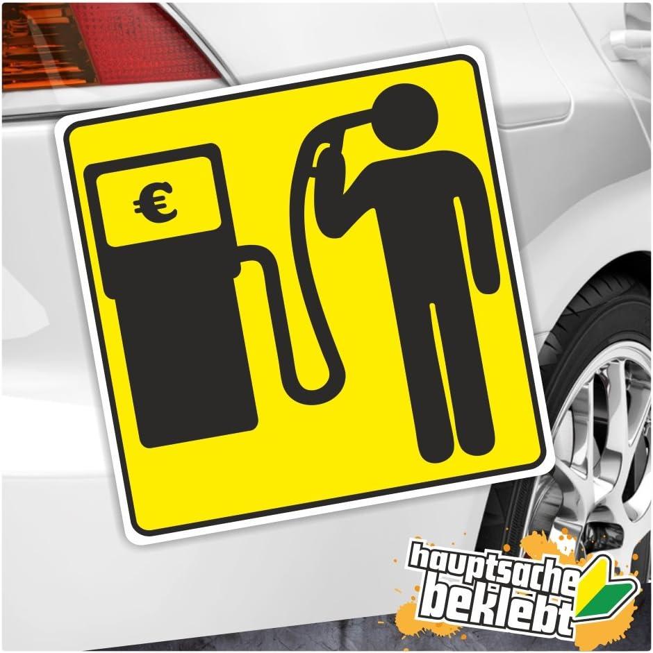 KIWISTAR Benzin Preise in 7 Gr/ö/ßen erh/ältlich Aufkleber mehrfarbig Sticker Funsticker colored
